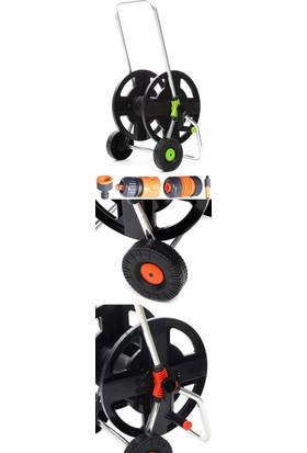 Homecare Madalyon Tekerlekli Hortum Arabası 4 Aparat Set 713071