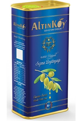 Altınköy Erken Hasat Natural Sızma Max. %1 Asit Zeytinyağı 4 lt