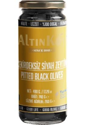 Altınköy Çekirdeksiz Siyah Zeytin 470 gr 4'lü Set