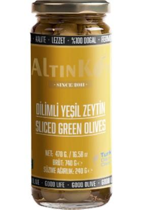 Altınköy Dilimli Yeşil Zeytin 470 gr 4'lü Set