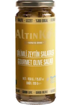 Altınköy Dilimli Zeytin Salatası 450 gr 4'lü Set