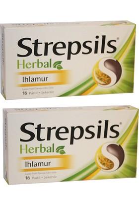 Strepsils Herbal Ihlamur 16 Pastil x 2 Adet