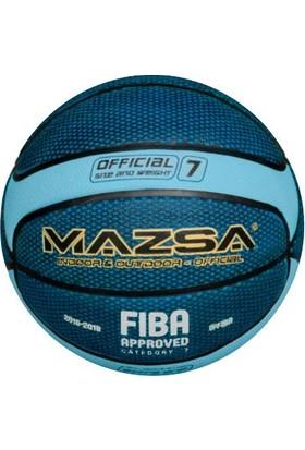 Mazsa Fiba Onaylı 7 No Basketbol Topu Mavi