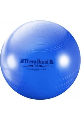 Theraband Abs Sistemli (Patlamaz) Pilates Topu 75CM Mavi