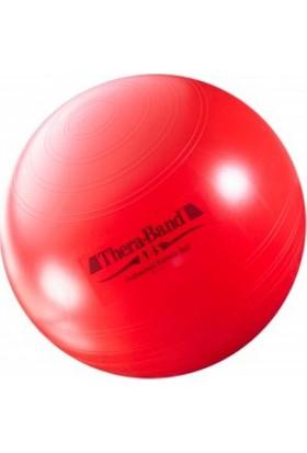 Theraband Abs Sistemli (Patlamaz) Pilates Topu 55CM Kırmızı