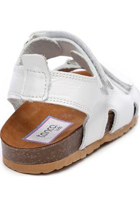 Kemal Tanca Çocuk Deri Sandalet