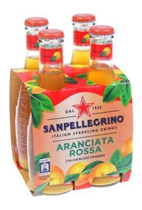 San Pellegrino Kan Portakallı Gazlı Içecek 200 ml x 4