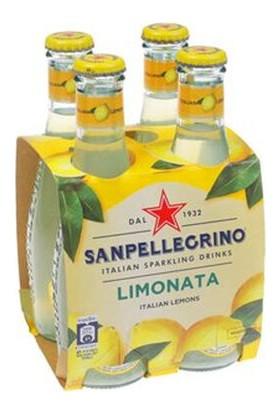 San Pellegrino Limonlu Gazlı Içecek 200 ml x 4
