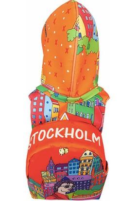 Morikukko City Serisi 'stockholm' Kapüşonlu Sirt Çantasi
