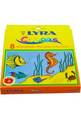 Lyra Uzun Boy Mum Boya Renkli 14 mm Çap 8'li