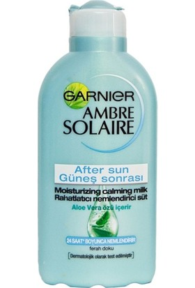 Garnier Ambre Solaire Güneş Sonrası Rahatlatıcı Nemlendirici Süt 200ml