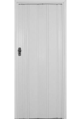 Penguen Akordiyon Katlanır Kapı Beyaz 72 cm x 220 cm