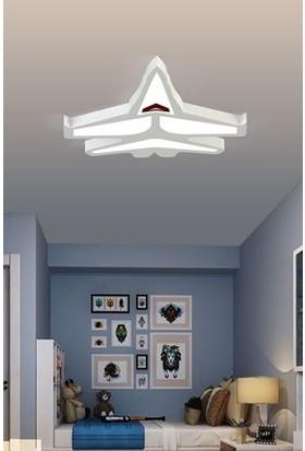 Artrasa - Uçak Dekoratif Çocuk Odası Aydınlatması 50 cm