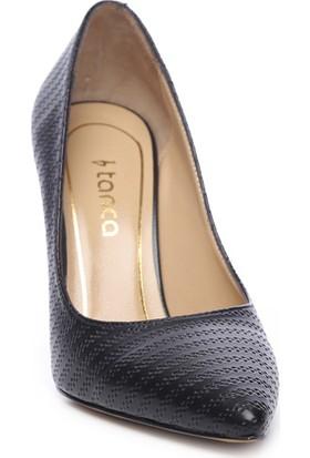 Kemal Tanca Kadın Deri Stiletto Ayakkabı