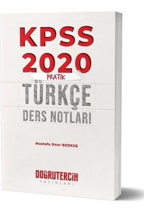 Doğru Tercih Kpss Pratik Türkçe Ders Notları-Yeni - Mustafa Onur Bozkuş