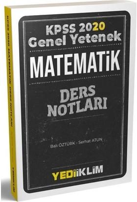 Yediiklim Yayınları KPSS Genel Yetenek Matematik Ders Notları
