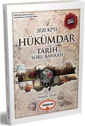 Yediiklim Yayınları KPSS Genel Kültür Hükümdar Tarih Soru Bankası-Yeni - Hamza Tatar