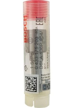 Bosch (0433175203) Renault İçin Enjektör Memesi (DSLA136P804) (Crın Inj.)