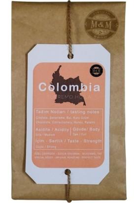 M&M Colombia Supremo Espresso Öğütülmüş Kahve 250 gr