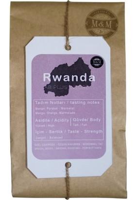 M&M Rwanda Espresso Öğütülmüş Kahve 250 gr