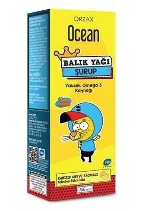 Ocean Balık Yağı Şurubu Tutti Frutti Kral Şakir 150 ml