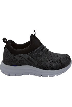 Minican Erkek Çocuk Spor Ayakkabı Gri Kamuflaj