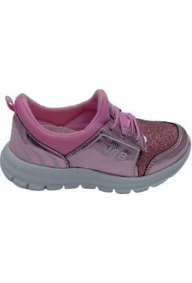 North Blue Kız Çocuk Spor Ayakkabı Pembe Simli