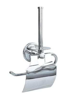 Arı Metal 7134 Pirinç Tuvalet Kağıtlığı Yedek Bekletmeli