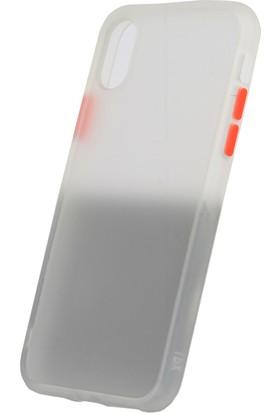 Vendas Apple iPhone XS Drop Dizayn Premium Silikon Kılıf Şeffaf