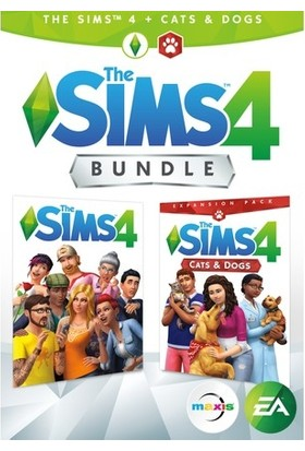 The Sims 4 Plus Cats & Dogs Bundle Dijital Oyun