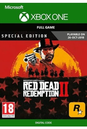 Red Dead Redemption 2 Special Edition Xbox One Dijital Oyun