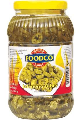 Foodco Dilimli Jalapeno Biber Turşusu 3,1 kg