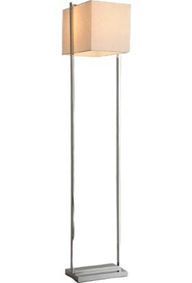 Tsd Dekorasyon Metal Ayaklı Lambader Kare