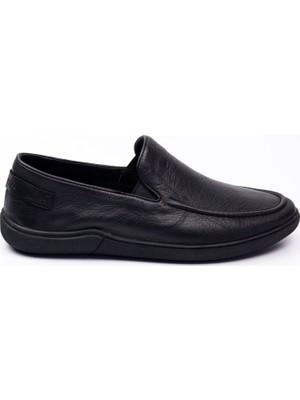 Hammer Jack 20315 Angers Siyah Deri Günlük Erkek Ayakkabı