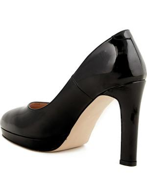 Kemal Tanca Platform Kadın Klasik Ayakkabı 1139