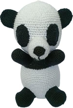 Amigurumi panda ayıcık sizi de gülümsetmiyor mu? – 10marifet.org | 443x300