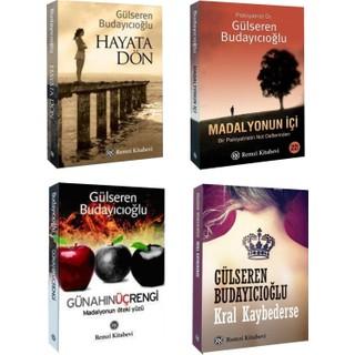 Gülseren Budayıcıoğlu 4 Kitap Set (Kral Kaybederse, Hayata Dön, Madalyonun İçi, Günahın Üç Rengi) - Gülseren Budayıcıoğlu