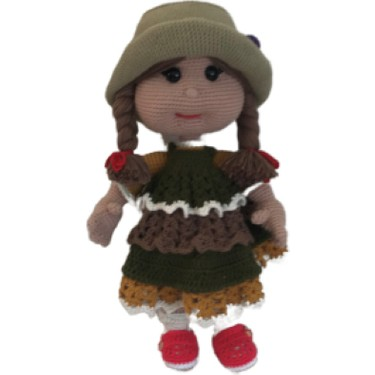 Şirine Bebek Amigurumi Modeli - Aktif Moda | 375x375