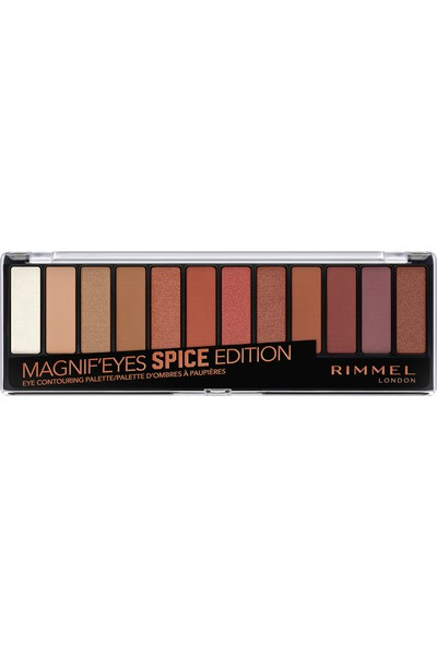 Rimmel London Magnif'eyes Spice Edition Eye Contouring Palette 005 Spice Edition