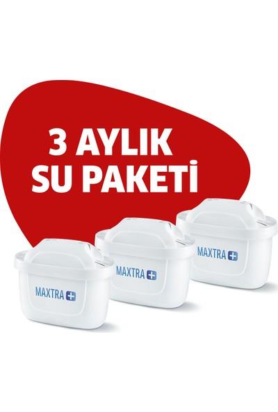 BRITA Maxtra+ 3'lü Paket Sürahi Yedek Filtresi