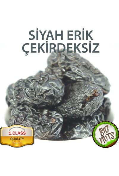 Big Nuts Siyah Erik Kurusu Çekirdeksiz Kurutulmuş İri Boy Kuru 1 kg