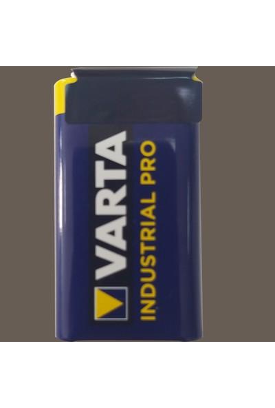 Varta Alkaline Indusrial Pro 9 V Pil