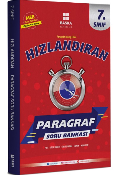 Başka Yayınları 7.Sınıf Hızlandıran Paragraf Soru Bankası