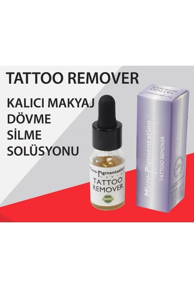 Micro Pigmentation Tattoo Remover - Dövme Silici