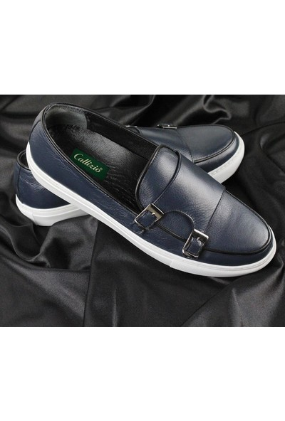 Cz London Erkek Monk Strap Sneaker Spor Ayakkabı
