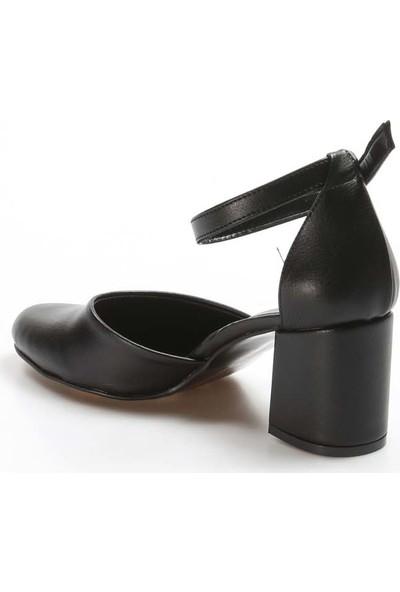 Fast Step Topuklu Ayakkabı 917Za701 Siyah