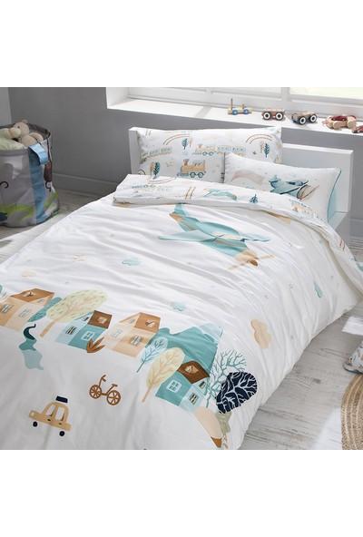 Yataş Bedding Plane Çocuk Ranforce Nevresim Takımı