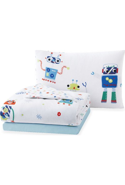 Yataş Bedding Robot Kid Çocuk Ranforce Nevresim Takımı