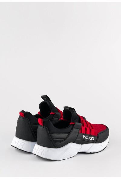 Walking Depodan Kırmızı Erkek Günlük Spor Ayakkabı