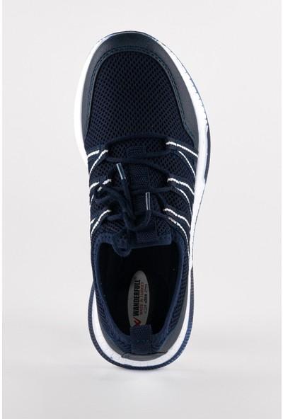 Wanderfull Günlük Lacivert Erkek Koşu ve Spor Ayakkabı
